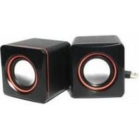 Azemax USB 2.0 Hoparlör 1+1 Ses Bombası
