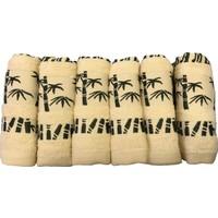 Alla Turca 6'Lı Bambu Havlu Seti Özel Çantalı 30*50 Cm