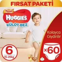 Huggies Pants Külot Bebek Bezi Extra Large 6 Beden Fırsat Paketi 60 Adet