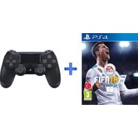 Sony Playstation Dualshock 4 ( PS4 Kol ) + PS4 Fifa 18 Oyunu