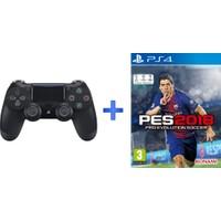 Sony Playstation Dualshock 4 ( PS4 Kol ) + PS4 Pes 18 Oyunu