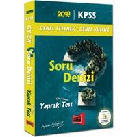 Yargı Yayınları 2018 Kpss Genel Yetenek Genel Kültür Soru Denizi Çek Kopartlı Yaprak Test