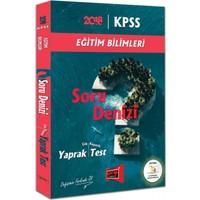 Yargı Yayınları 2018 Kpss Eğitim Bilimleri Soru Denizi Çek Kopartlı Yaprak Test