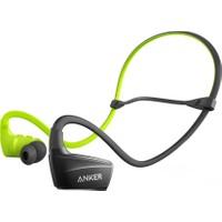 Anker SoundBuds NB10 Bluetooth 4.1 Su Geçirmez Spor Kulaklık Yeşil - Siyah