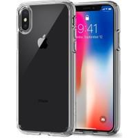 Spigen Apple iPhone X Kılıf Ultra Hybrid Crystal Clear - 057CS22127