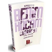 2018 Kpss Coğrafya Konu Anlatımı Benim Hocam Yayınları