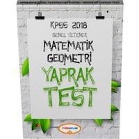 2018 Kpss Genel Yetenek Matematik-Geometri Çek Kopart Yaprak Test