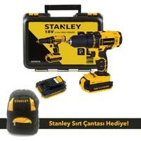 Stanley SCD20C2K 18V Çift Akülü Matkap Vidalama