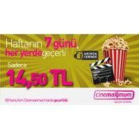 Tüm Cinemaximum'lar – 3D Hariç - Sinema Bileti