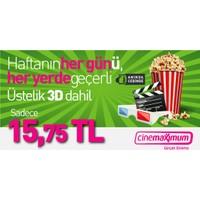 Tüm Cinemaximum'lar – 3D Dahil - Sinema Bileti