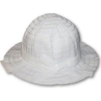 Monna Rosa Kız Çocuk Şapka - Beyaz
