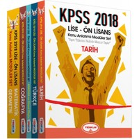 2018 Lise-Önlisans Modüler Konu Anlatımlı Set (5 Kitap )