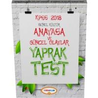 2018 Kpss Genel Kültür Anayasa Çek Kopart Yaprak Test