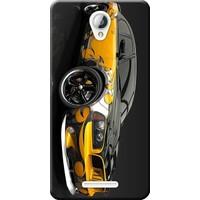 Kılıf Merkezi Lenovo A5000 Kılıf Silikon Baskılı Carros Velozs STK:292