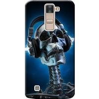 Kılıf Merkezi LG G4C Kılıf H525 Silikon Baskılı Metal İskelet STK:141