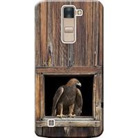 Kılıf Merkezi LG G4C Kılıf H525 Silikon Baskılı Kartal STK:198