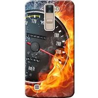 Kılıf Merkezi LG G4C Kılıf H525 Silikon Baskılı Hız Tutkusu STK:254