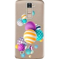 Kılıf Merkezi LG G4C Kılıf H525 Silikon Baskılı Renkli Toplar STK:337
