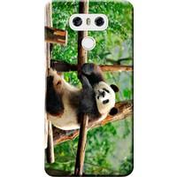 Kılıf Merkezi LG G6 Kılıf H870 Silikon Baskılı Panda STK:181