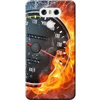 Kılıf Merkezi LG G6 Kılıf H870 Silikon Baskılı Hız Tutkusu STK:254