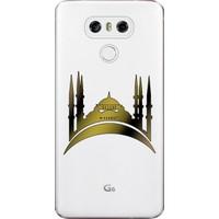 Kılıf Merkezi LG G6 Kılıf H870 Silikon Baskılı Cami Vektörel STK:355