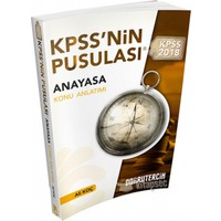 2018 Kpss Nin Pusulası Anayasa Konu Anlatımı Doğru Tercih Yayınları