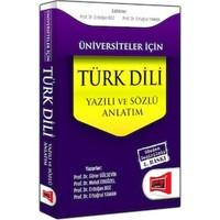 Üniversiteler İçin Türk Dili:Sözlü Ve Yazılı Anlatım Yargı Yayınları