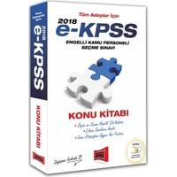 Yargı Yayınları 2018 E-Kpss Tüm Adaylar İçin Konu Kitabı
