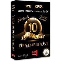 Yargı Yayınevi 2018 KPSS Genel Kültür Genel Yetenek 10 Altın Fasikül Fasikül Çözümlü Deneme Sınavı