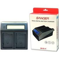 Sanger Nikon EN-EL15 İkili Dijital Sanger