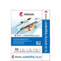 Mühlen A6 Laminasyon Filmi 125 Micron 1 Paket 100 Adet