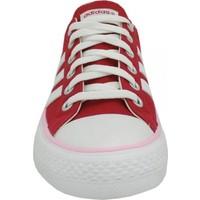 Adidas Bayan Vlneo 3 Stripes Günlük Kırmızı Spor Ayakkabı F39227
