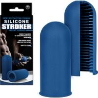 Censan Silicone Stroker Mastürbatör - Mavi