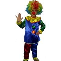 Kostümce Çocuk Palyaço Kostümü İkili