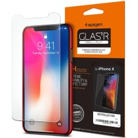 Spigen Apple iPhone X Cam Ekran Koruyucu GLAS.tR SLIM - 057GL22105