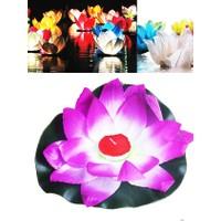 Beysus Dekoratif Yüzen Nilüfer Çiçeği TLight Mum
