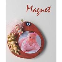 Canay Dekoratif Ahşap Magnet