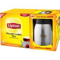 Lipton Yellow Label Poşet 1000 'li - 1,5 litre Termos Hediyeli !