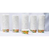 Polente Sıcağa Dayanıklı Kalın Karton 125'li x 5 Paket Kapaklı (Kullan At)