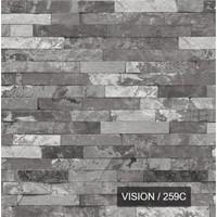 259 C Taş Desenli Duvar Kağıdı