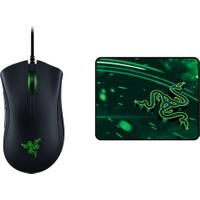 Razer Deathadder Elite Mouse + Razer Goliathus Speed Cosmic Small Mousepad