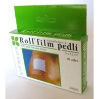 Roll Film Pedli Steril Şeffaf Yara Örtüsü 8X15 Cm 10'Lu Paket