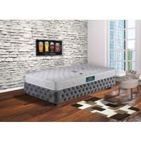 Hepsiburada Home Tek Kişilik Ortopedik Yatak Beyaz 90 x 190 cm