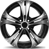 ARCEO 5134-02 15'' 6.5 Offset 4x100 ET35 Honda-Hyundai-Kia-Fiat-Renault Uyumlu Black Polished Jant