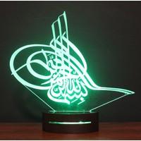 Üç Boyutlu Lamba 3D Led Lamba
