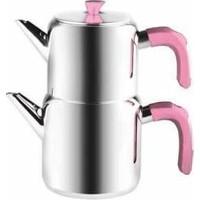 Emsan Kalamış Çaydanlık Takımı - Pembe