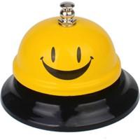 Peak Bays RING Masaüstü Dekoratif Resepsiyon Zili (Sarı)