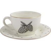 Porland Forest Tabaklı Çay Fincanı 215Cc