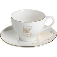 Porland Gold Twinkle Tabaklı Çay Fincanı 180 Cc