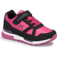 Kinetix Rivero Pu Fuşya Siyah Mor Kız Çocuk Sneaker Ayakkabı